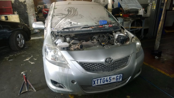 TOYOTA YARIS  T3 STRIPPING FOR SPARES