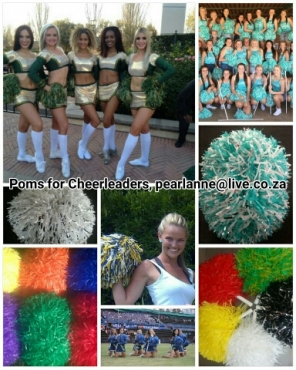 Pom poms for Cheerleaders in South Africa