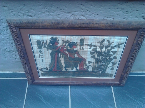Egyptian framed pictures