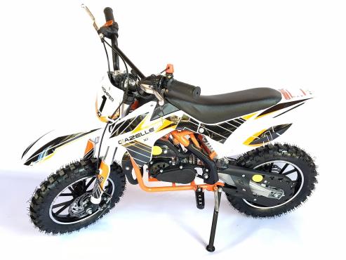 The GAZELLE- 49cc 2 stroke dirt bike