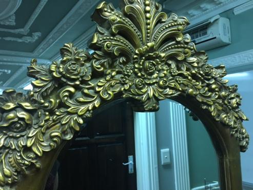 Ornate chevelle mirror