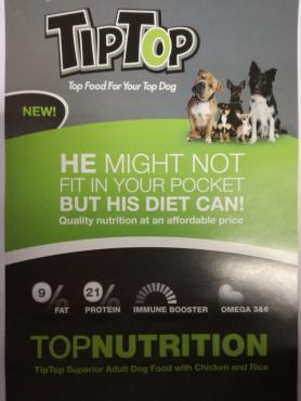 Tip Top Dog Food Junk Mail