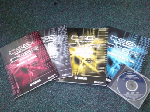 * YAMAHA CS6X Software CD *