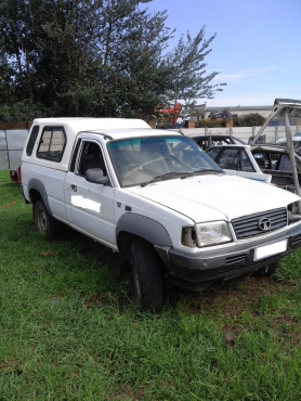 Tata Telcoline single cab bakkie stripping for spare parts