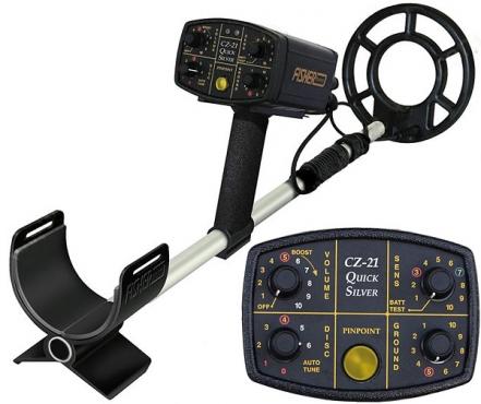 Fisher CZ21 Quicksilver Underwater & Land Metal Detector