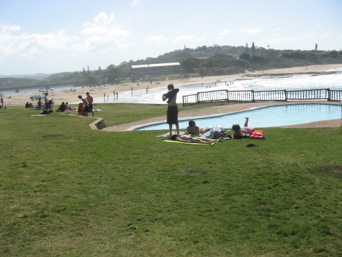 Lazy days on St Mikes beach - St Mikes - UVONGO – 1 bedroom holiday flat sleeps 2 to 4