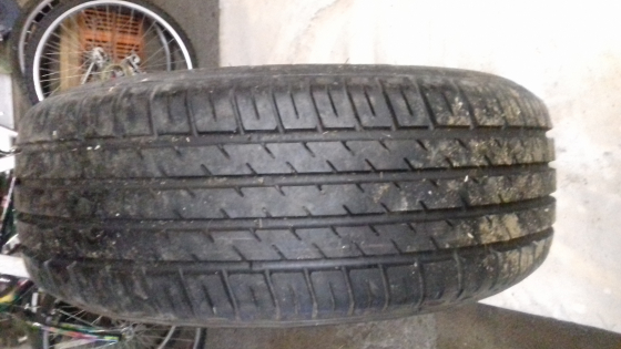 1 X Volvo S80 Steel rim with new Michelen tyre for sale