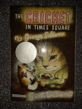(New Book) The Cricket In Times Square - George Selden - Book 1.