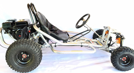 Big wheel -200cc Wet clutch petrol 4 stroke go karts on sale with ...