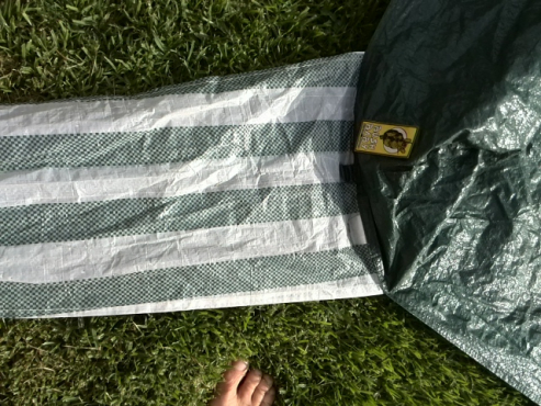 Gazebo cover (wrapper) without the frame, for sale