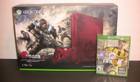 Xbox One S 2TB Console Gears of War 4 Limited Edition Bundle