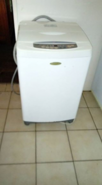 Washing machine for sale.