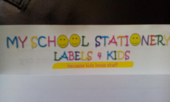 Labels 4 Kidz - Because Kidz loose stuff - Anneke Alert Charity