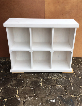 Nursery - Shelving unit cube Farmhouse series 1150 White washed