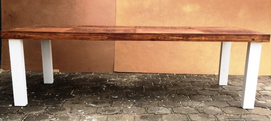 Patio table Farmhouse series 2550 Two tone