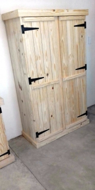 Kitchen Cupboard Farmhouse series Free standing 1800 with 2 doors Standard Raw