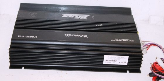 Targa Audio Car Amplifier S022125A #Rosettenvillepawnshop