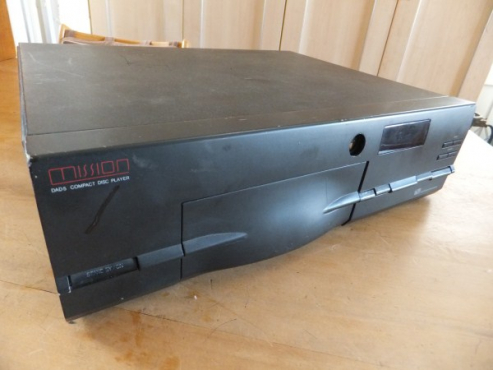 Top quality Mission DAD5 HiFi CD Player