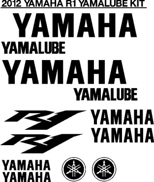 Yamaha YZF R1 decals stickers graphics - kits for all years