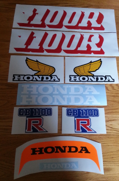 Honda CB 1100 RC decals graphics sticker set