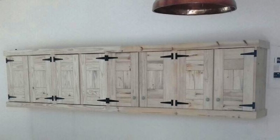Kitchen Cupboard Wall unit Farmhouse series 4000 Raw