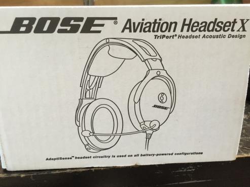 Bose Aviation X Headset
