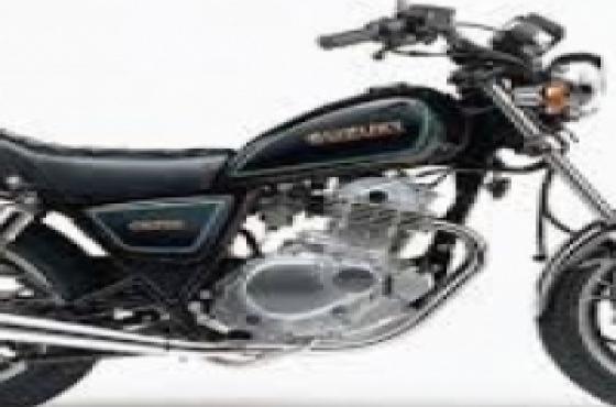 Suzuki GN 250 spares and repairs