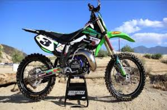 Kawasaki KX 250 spares and repairs