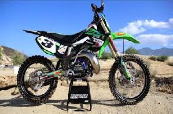 Kawasaki KX 250 spares and repairs