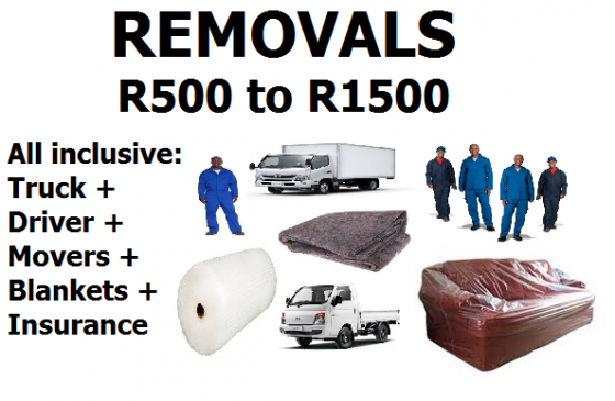 Furniture removals in Midstream Estate