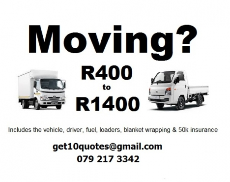 Furniture Removals In Centurion 0792173342 Junk Mail