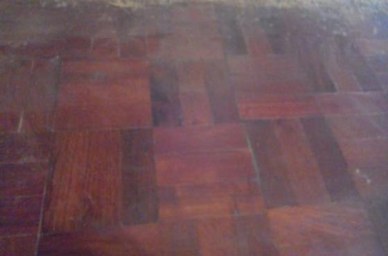 Meter hout blokkies vloer te koop junk mail