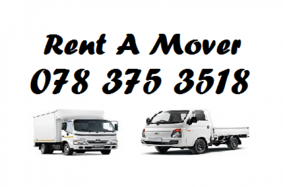Rent A Mover 0783753518