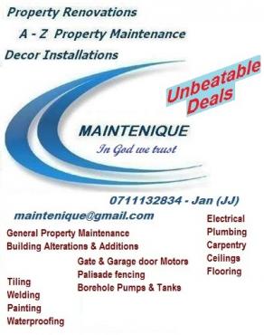 Unique Maintenance & Handyman Service
