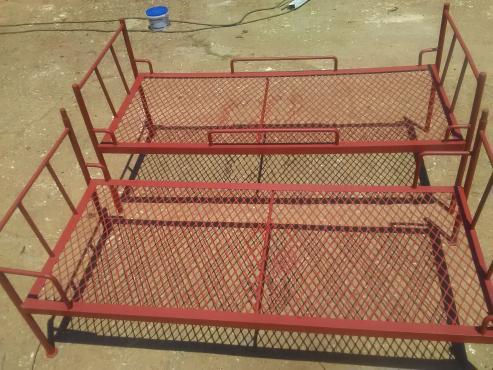 Double Steel Bunk Beds