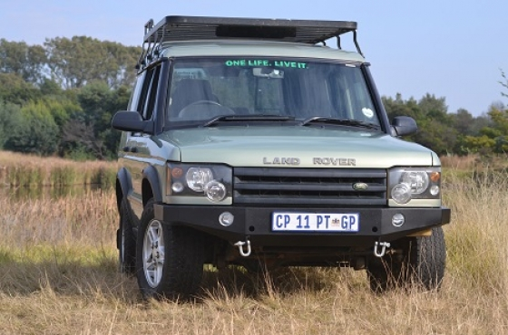 Land Rover Discovery 2 >> Land Rover Discovery 2 Front And Rear Replacement Bumpers