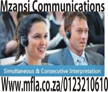 Consecutive and Simultaneous Interpretation services in Western Cape