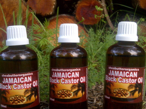 Unrefined Shea Butter and jamaican Black Castor oil