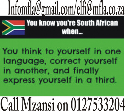 English and Afrikaans Language Learning in just 14 weeks
