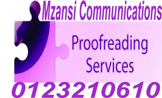 Affordable quality editing and proofreading services in western Cape