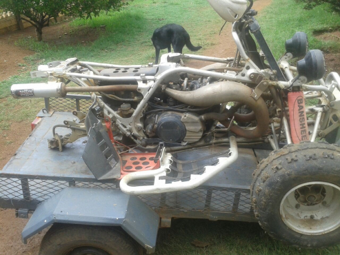 Yamaha 350 Banshee stripping for spares