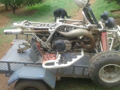 Yamaha 350 Banshee stripping for spares