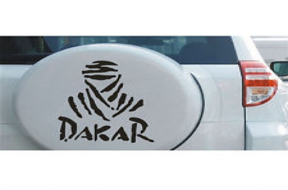 Spare wheel cover decals stickers graphics