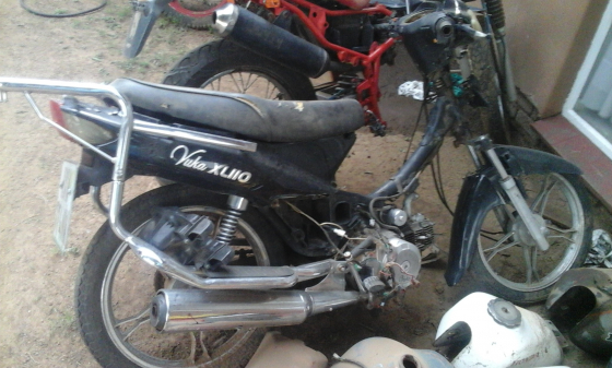 Vuka XL 110 stripping for spares Finance available on spares and repairs above R2000