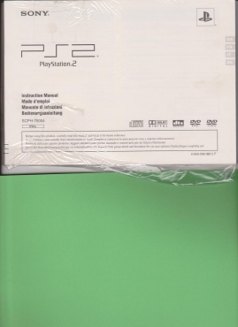 Playstation 2 - Instruction Manual