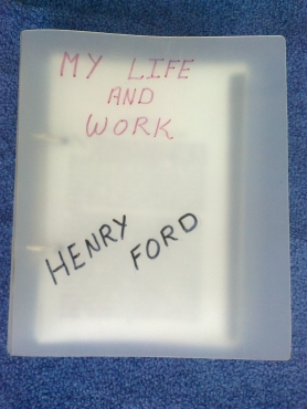 ford my life and work