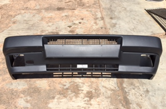 Fiat uno bumpers on