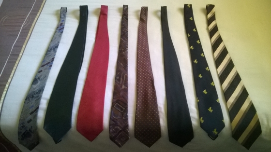 Stylish gents' ties