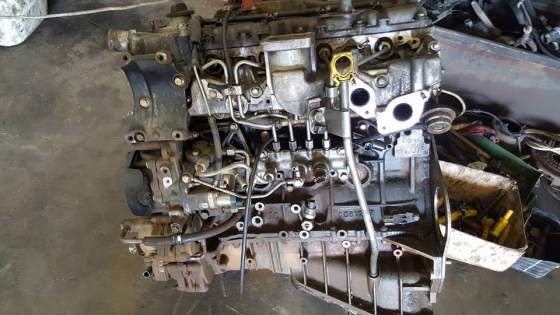 Isuzu 4jj1 running motor for sale inc pump and injectors and turbo