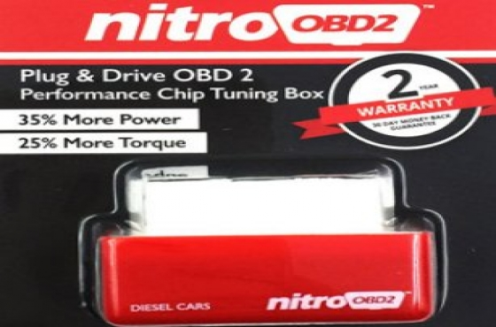 NitroOBD2 PERFORMANCE CHIP TUNING BOX FOR TURBO DIESEL ENGINE CARS (Product Code CAD028)
